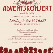 Adventskonsert 6 december