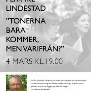 Föreläsning med Per-Åke Lindestad