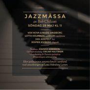 Jazzmässa och tack till Lotta Holmberg Larson