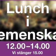 Lunch i Gemenskap